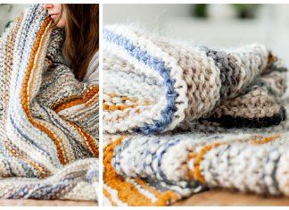 Stash Buster Blanket Free Knitting Pattern