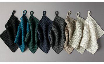 Waffle Stitch Washcloth Free Knitting Pattern