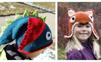 Animal Hat Free Knitting Pattern