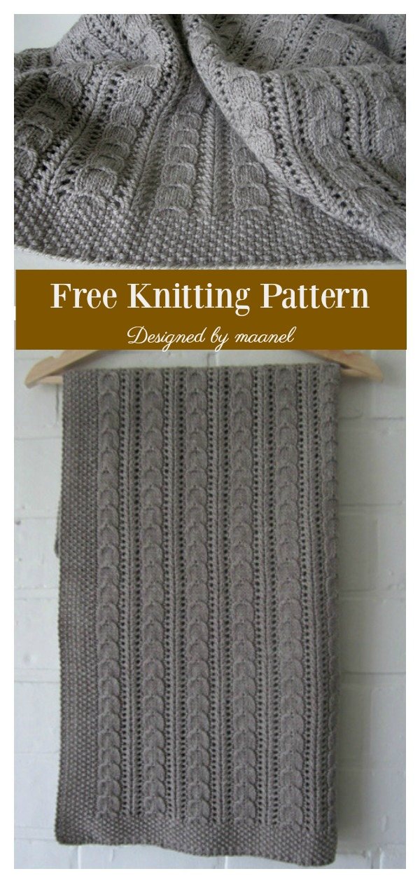 Cuddle Me Baby Blanket Free Knitting Pattern