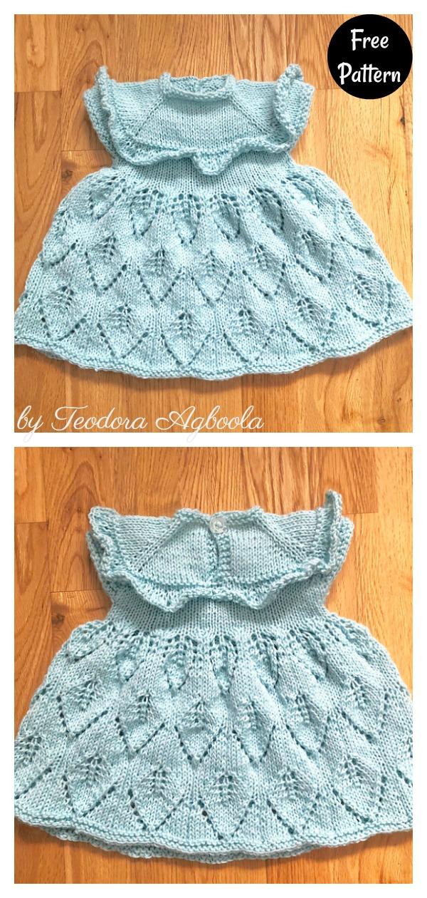 Dara Baby Dress Free Knitting Pattern