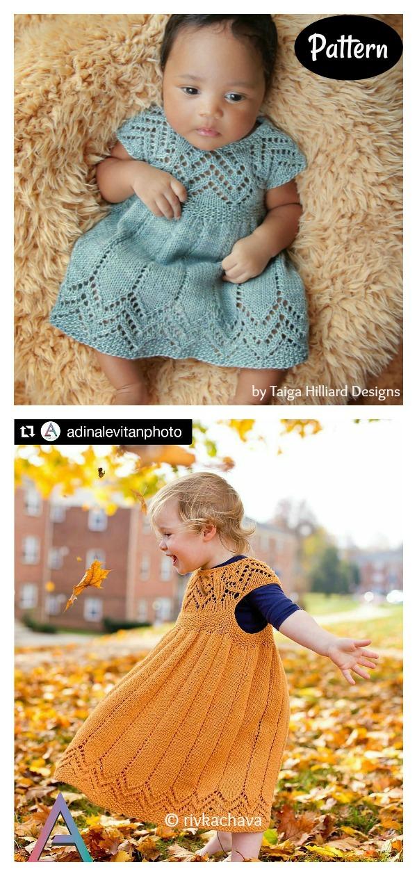 Muti Baby Dress Knitting Pattern