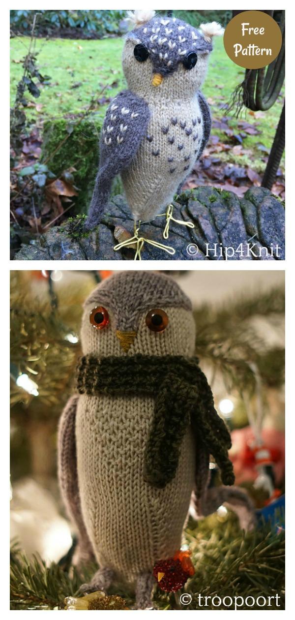 Adorable Amigurumi Obligatory Owl Free Knitting Pattern