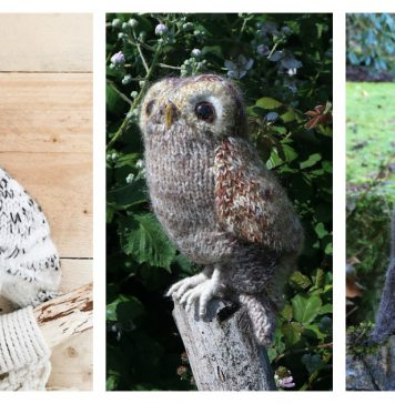Adorable Amigurumi Owl Knitting Patterns