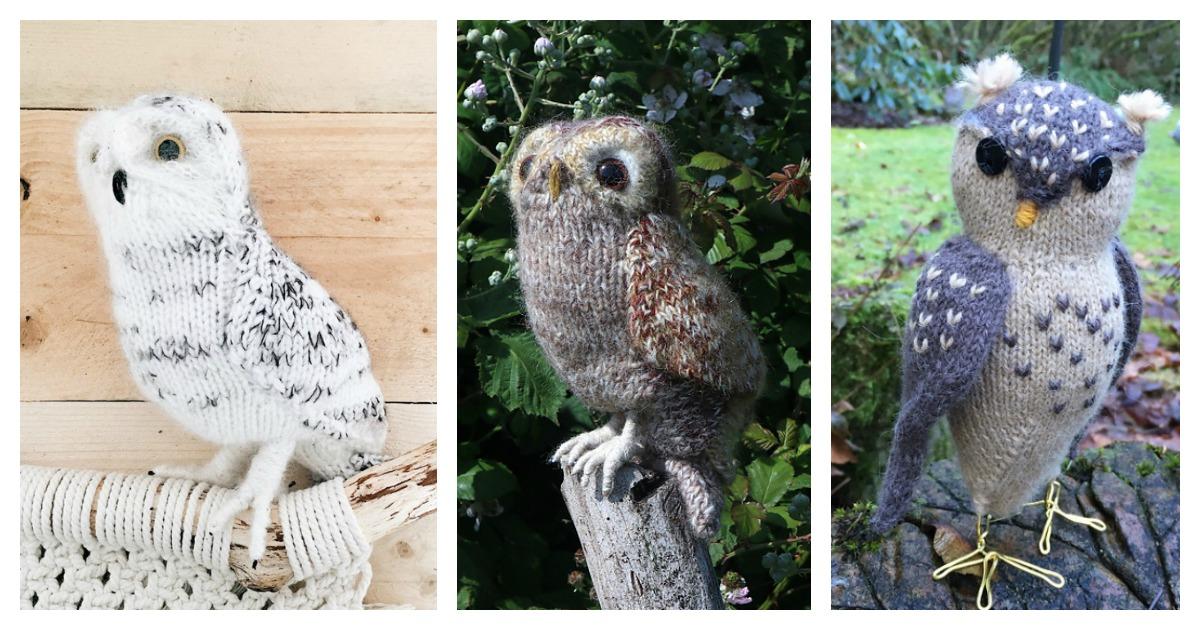 Owl Crochet Pattern Amigurumi – Firefly Crochet | 630x1200