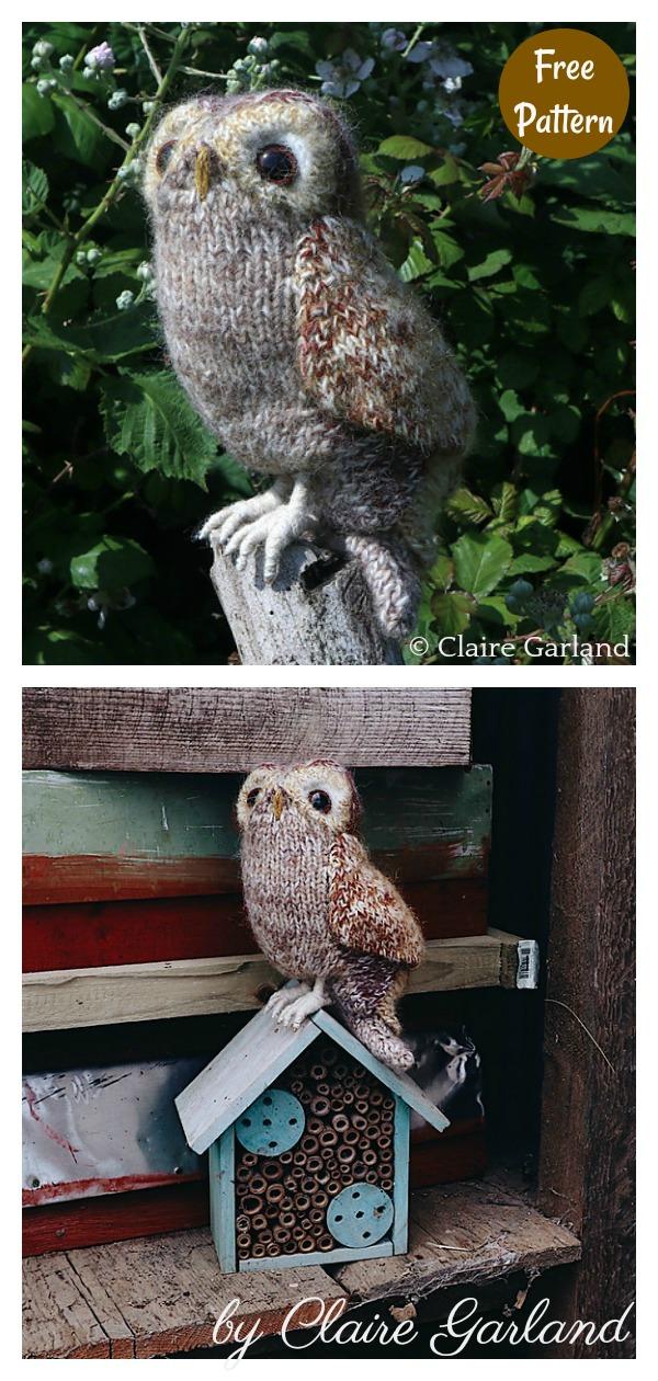 Adorable Amigurumi Tawny Owl Free Knitting Pattern