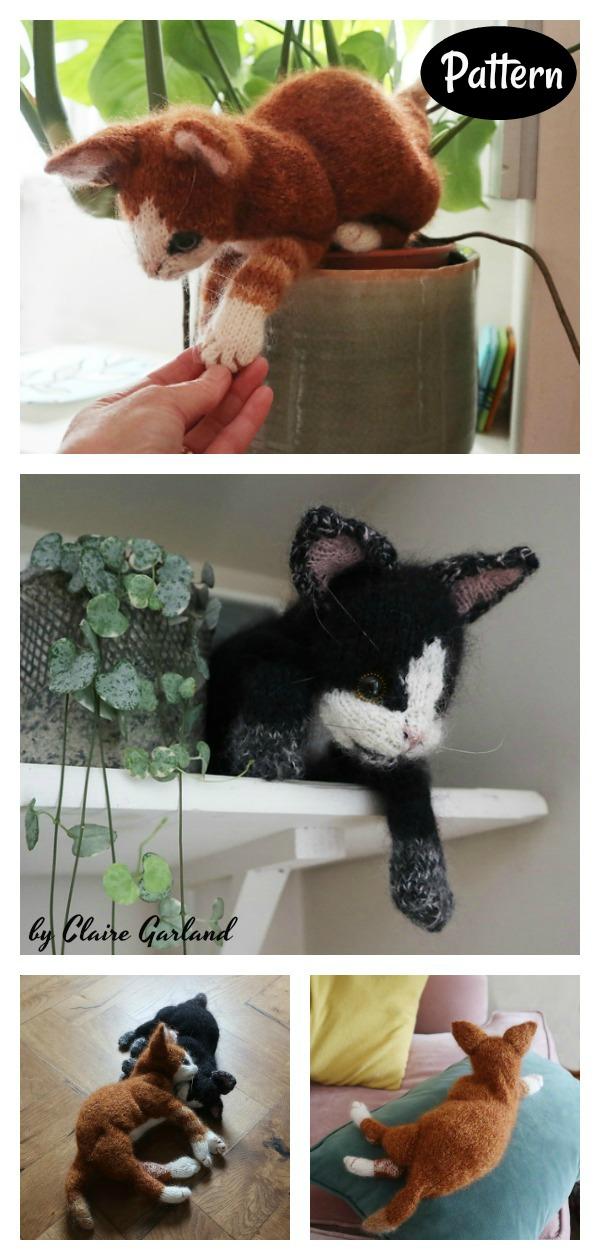 Amazing Kitten Cat Amigurumi Knitting Pattern