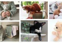 Amazing Kitten Cat Amigurumi Knitting Patterns
