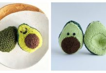 Avocado Free Knitting Pattern