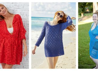 Beach Cover Up Free Knitting Patterns