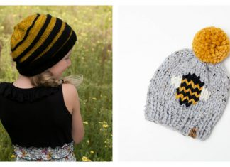 Bee Hat Knitting Patterns