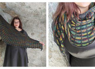 Sjalen Ylva Shawl Free Knitting Pattern