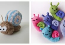 Snail Free Knitting Pattern