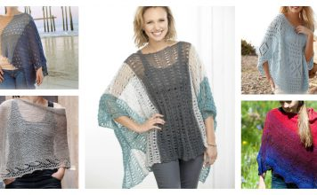 Summer Poncho Free Knitting Pattern
