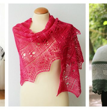 The Cat Lover's Shawl Knitting Patterns
