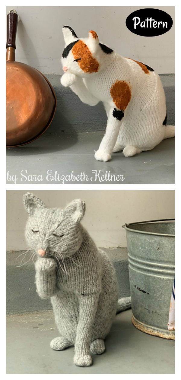 The Scullery Cat Amigurumi Knitting Pattern