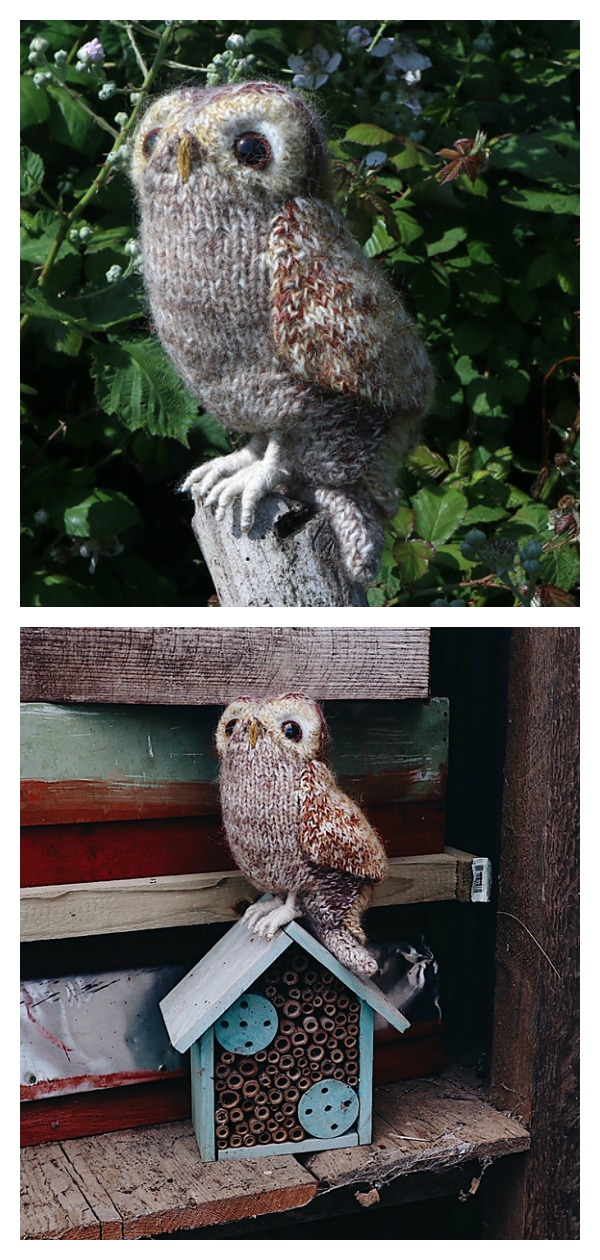 Tawny Owl Knitting Pattern