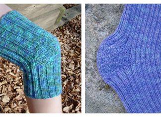 Knee Warmer Free Knitting Pattern