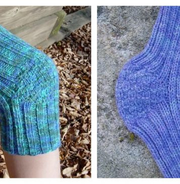 Knee Warmer Free Knitting Pattern