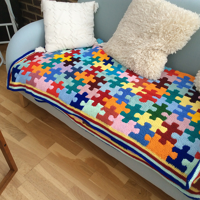 Knitted Puzzle Pieces