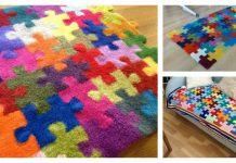 Puzzles Blanket Knitting Pattern