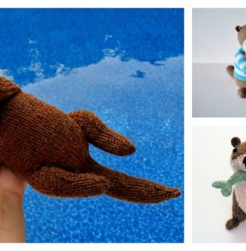 Sea Otter Knitting Patterns