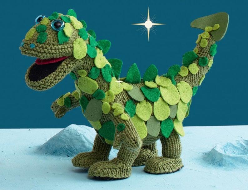 Amigurumi Dragon Toy Knitting Pattern