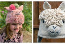 Alpaca Hat Knitting Patterns