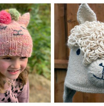 Alpaca Hat Knitting Patterns