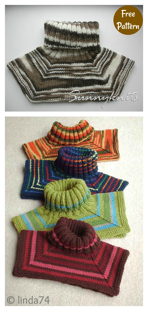 Easy Neck Warmer Free Knitting Pattern