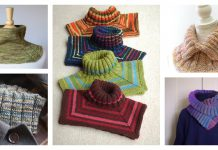 Easy Neck Warmer Free Knitting Pattern