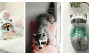 Raccoon Knitting Patterns