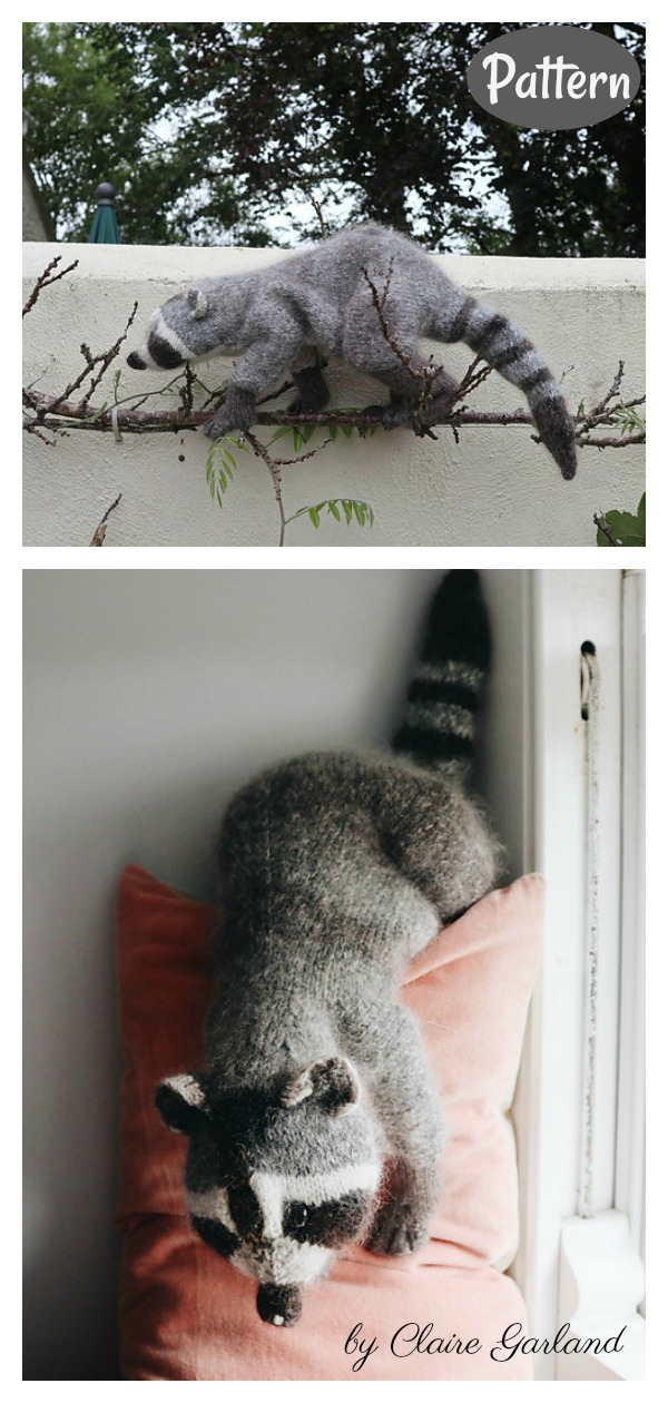 Racoon Knitting Pattern