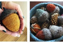 Acorn Free Knitting Pattern