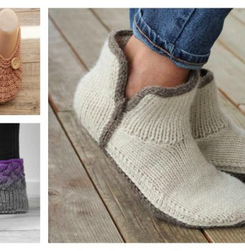 Adorable Slippers Knitting Patterns