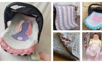 Car Seat Blanket Knitting Patterns