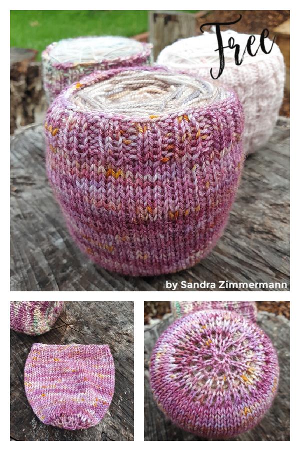 Easy Yarn Cake Cozy Holder Free Knitting Pattern