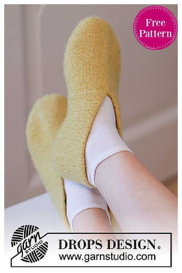 Lemon Loafers Free Knitting Pattern