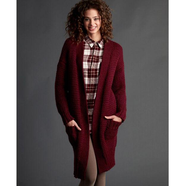 Long Weekend Cardigan Free Knitting Pattern