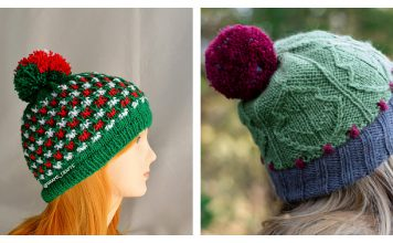 Christmas Hat Knitting Patterns