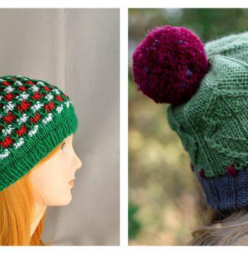 Christmas Hat Knitting Patterns