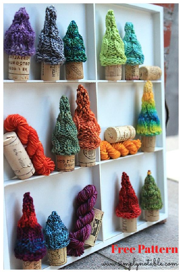 Cork Forest Free Knitting Pattern