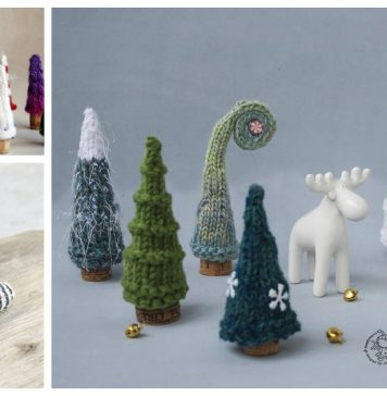 Cork Trees Knitting Patterns
