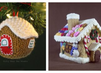 Gingerbread House Knitting Patterns
