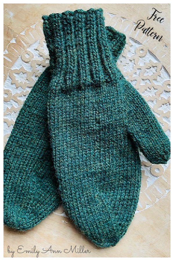 10+ Simple Mittens Free Knitting Patterns - Page 3 of 3