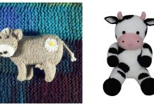 Adorable Amigurumi Cow Knitting Patterns