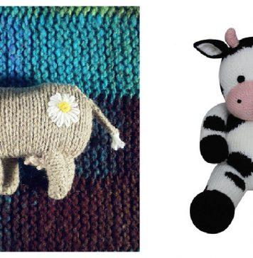 Adorable Amigurumi Cow Knitting Patterns
