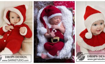 Christmas Baby Outfit Knitting Patterns