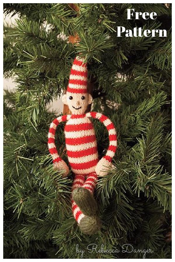 Christmas Elf Free Knitting Pattern
