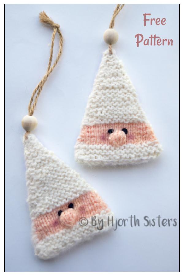 Christmas Elf Ornament Free Knitting Pattern